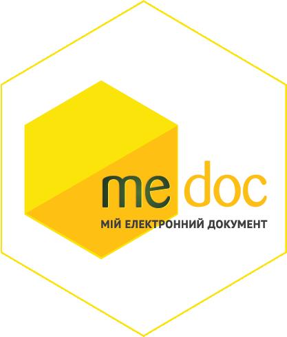 """Перехід на сайт """"M.E.Doc""""."""